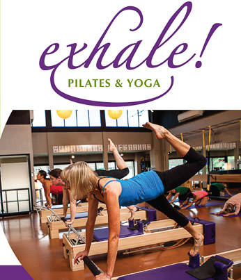 Editing Sample for Exhale Pilates & Yoga