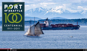 "The Port of Seattle Centennial Video Documentary, ""Voices of the Port."" Listen to the soundtrack samples below."