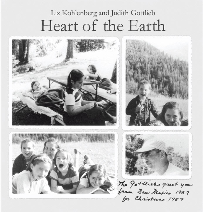 Cover for the lyrics insert of the Heart of the Earth CD.